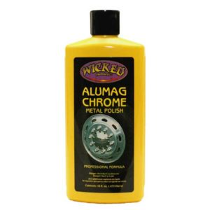 wicked alumag chrome metal polish for cars